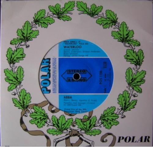 Album Poster   ABBA   Waterloo