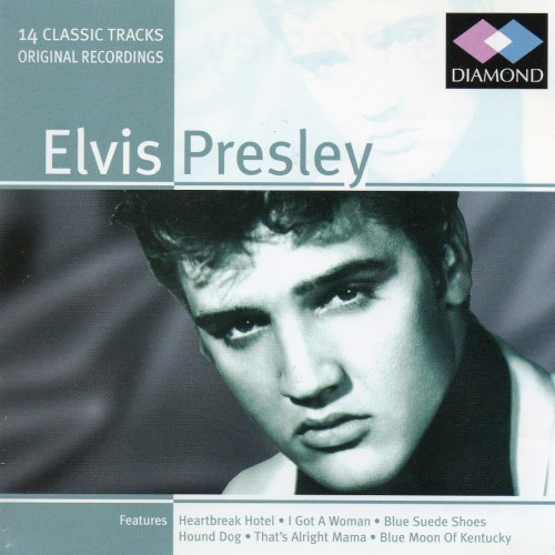 Album Poster | Elvis Presley | Blue Suede Shoes