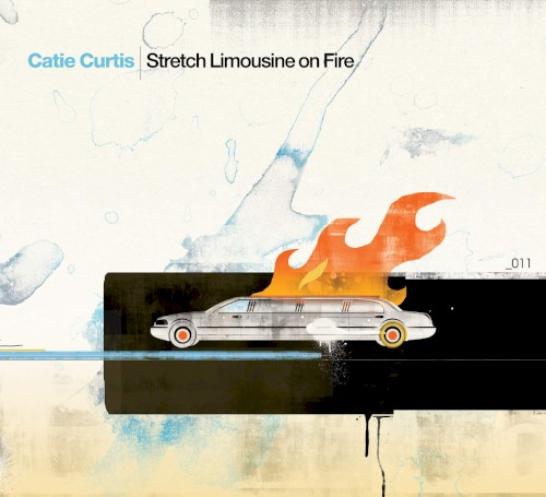 Stretch Limousine On Fire