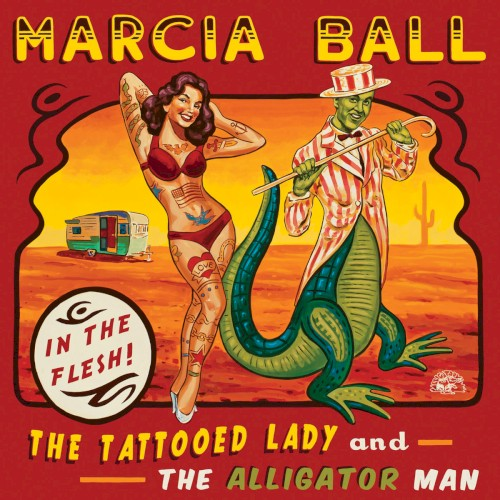 The Tattooed Lady And The Alligator Man